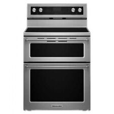 """New listing KitchenAid 30"""" Stainless Steel Electric Double Oven Convection Range"""
