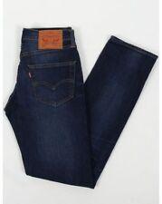 Levi's Indigo, Dark wash Skinny, Slim Jeans for Men