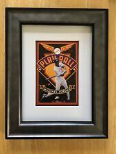 MLB Baseball Michael Jordan ''Play Ball'' Nike Small Framed Picture~Brand New
