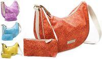 Borsa spalla tracolla donna Luna Media Bag Borbonese jet op Women Satchel Bag