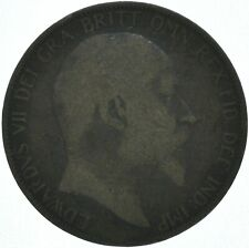 1906 ONE PENNY COIN EDWARD VII GREAT BRITAIN    #WT16237