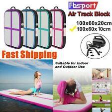 Inflatable Air Track Tumbling Mat Gymnastics Mats Floor Yoga Training With Pump