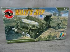 Airfix Willy's Jeep Model Kit Car Truck 2004 1:72 Scale Sealed #3