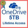 5TB OneDrive account  👑 LIFETIME account 👑