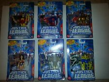 DC JUSTICE LEAGUE UNLIMITED: 6 SINGLES - WONDER WOMAN, STARMAN, ATOM, FATE,AMAZO