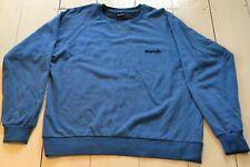 Long Sleeved Large Blue Bench Sweatshirt With Crew Neck & Tonal Stitch Logo