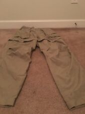 Field And Stream Men's 2-in1 Zip Off Hiking Camping Pants Sz M Brown Clothes