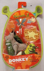 HASBRO Shrek Donkey Woodland Fox Donkey Figurine en Blister New Neuf
