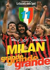 MILAN GRANDE GRANDE GRANDE=SCUDETTO 1987/88=il milan di Sacchi rimonta il Napoli