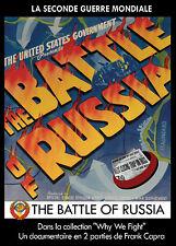 DVD La Seconde Guerre Mondiale : The Battle of Russia - 1ère et 2ème Parties