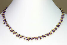 "Beaded Chain Necklace 18"" in 14k Gold"