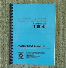 New Leyland 154 Tractor Workshop Manual