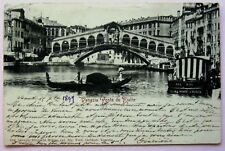 Cartolina Veneto – Venezia Ponte di Rialto - 7633