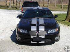 "pontiac GTO 8"" Twin Rally Stripe Set Stripes Decals Also Fit G8 Ls6 LS2 LS7"