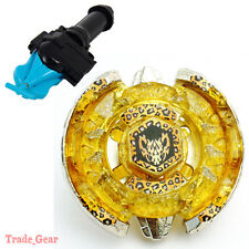 BB109 Beat Lynx BEYBLADE Masters Fusion Metal +GRIP+BLUE SPIN LAUNCHER