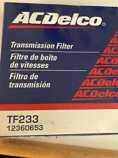 ACDelco TF233 Auto Trans Filter Kit Buick, Chevy, Isuzu, More
