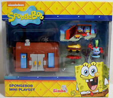 SPONGEBOB SQUAREPANTS KRUSTY KRAB MINI FIGURE PLAYSET EUROPEAN NEW BY SIMBA