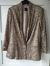 NEW OASIS  SEQUIN JACKET SIZE 10 EUR 36 sold out !!!!!!! RRP £95
