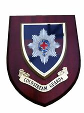 Coldstream Guards Military Shield Wall Plaque
