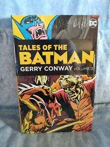 Tales of the Batman Gerry Conway Volume 3 Hardcover HC OOP Rare SEALED OMNIBUS