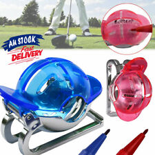 Golf Ball Line Marker with Free 1 Pens Drawing Tool Template Gift Sign Alignment
