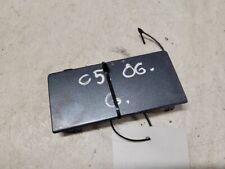 Citroen C5 2005 Rear bumper row hook cap/cover 9652100477 JUT33077