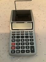 CASIO - HR-8TM - Portable Printing Calculator- Business - Accounting-Tax - Works