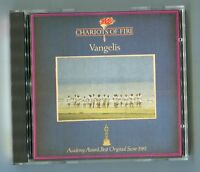Vangelis cd CHARIOTS OF FIRE ©1981 polydor red/silver # 800 020-2 WEST GERMANY
