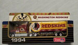 1994 Matchbox NFL 1/80 Scale Die Cast Tractor Trailer WASHINGTON REDSKINS