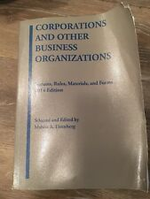 Selected Statutes: Corporations and Other Business Organizations : Statutes, Ru…