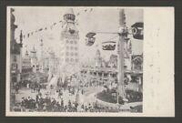 "[73228] 1905 ABRAHAM & STRAUS POSTCARD ""LUNA PARK CONEY ISLAND"", NEW YORK"