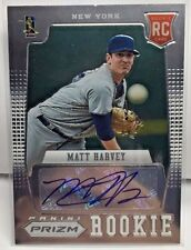 Matt Harvey 2012 Panini PRIZM Rookie Card RC Autograph Auto - NEW YORK NY METS