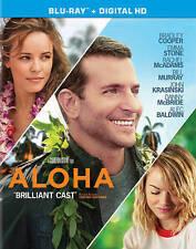 Aloha Blu-ray Disc, 2015 NEW BRADLEY COOPER EMMA STONE RACHEL MCADAMS FREE SHIP!