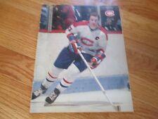 BOB GAINEY Les MONTREAL CANADIENS vs BOSTON BRUINS 1982-83 Program