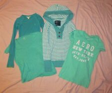 Aeropostale Gap Abercrombie & Fitch American Eagle Juniors XS 4 pc Lot shirts