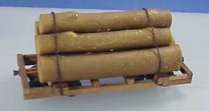 On3/On30 WISEMAN MODEL SERVICES DP49 NEW MEXICO LUMBER CO. LOG CAR KIT