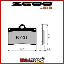 45B00101 PASTIGLIE FRENO ZCOO (B001 EX C) HUSQVARNA SM 570 R 2004 (ANTERIORI)