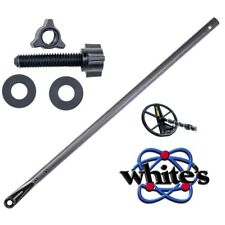 Whites Metal Detector Fiber Lower Rod Shaft 500-0242-1 + Coil Mounting Hardware