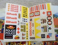 LEGO - Rare Vintage - LEGO Ideas Book 200 w/ Unused Sticker Sheet (Complete)