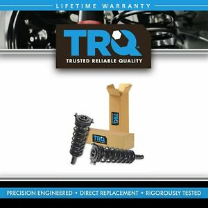 TRQ Complete Loaded Shock Strut Spring Assembly Rear Pair Set of 2 for Outback