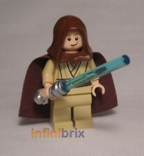 Lego Obi-Wan Kenobi Minifigure from set 7962 Star Wars Jedi NEW sw329