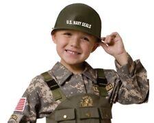 Niños U.S. Navy Seals Juego de Rol vestir Casco Niños finja el juego de un tamaño