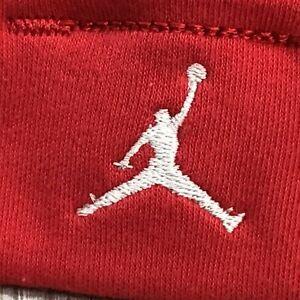 Nike Red Bennie Baby Toddler Cap Hat With White Logo