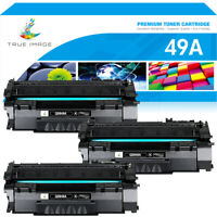 3 Pack Q5949A 49A Toner Cartridge Compatible For HP LaserJet 1160 1320 3390 3392