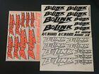 Bolink Sticker Decal Sheet