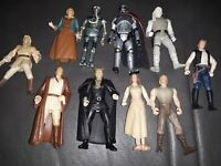 Lot of 10 - 1990s LFL Star Wars Action Figures NO DUPLICATES RARE SET CLEAN🔥🔥