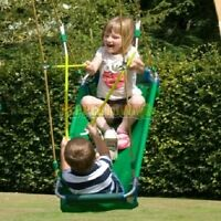 Pirate Boat Swing Green Playground Special Needs Cubbyhouse Play Equipment