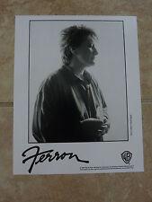 Ferron 1996 90's 8x10 B&W Publicity Picture Promo Photo