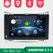 "9"" Android 7.1 DAB+ Autoradio Nav GPS Mercedes Benz A Klasse Sprinter Vito Viano"