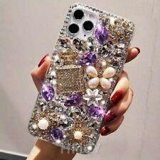 Girly Bling Glitter Diamond Women Rhinestones Crystal Case Cover for Cell Phones